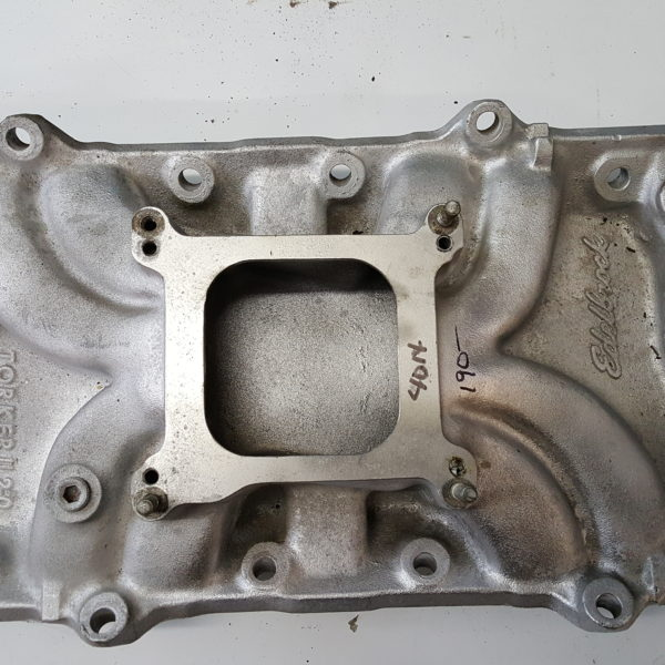 GM Cast Iron Small Block Chevy Intake off MerCruiser USED – B&P